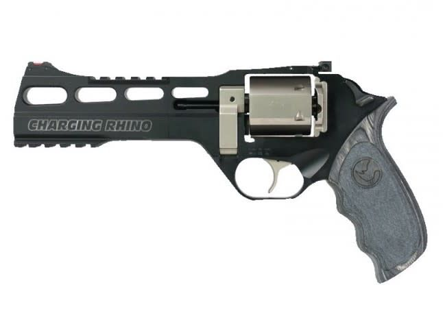 Chiappa Chiappa Charging Rhino 60DS Black/White - 9mm, 6""