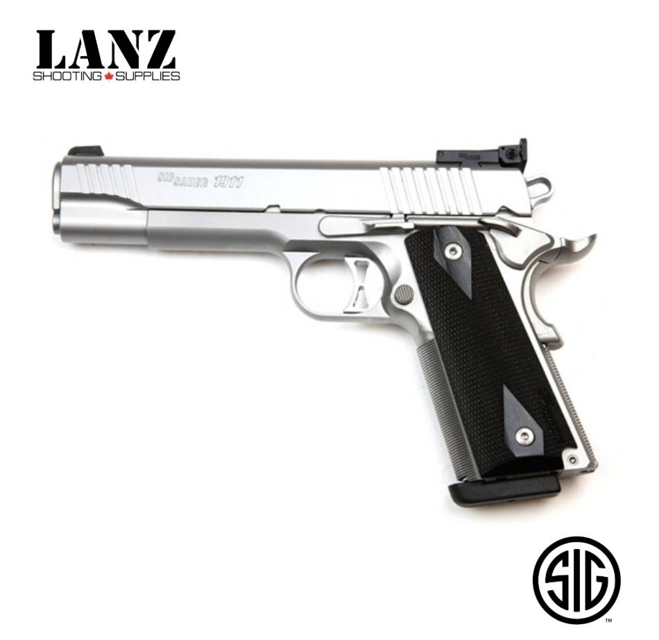 Sig Sauer 1911 Traditional Match Elite Semi-Auto Pistol, 9mm, 5