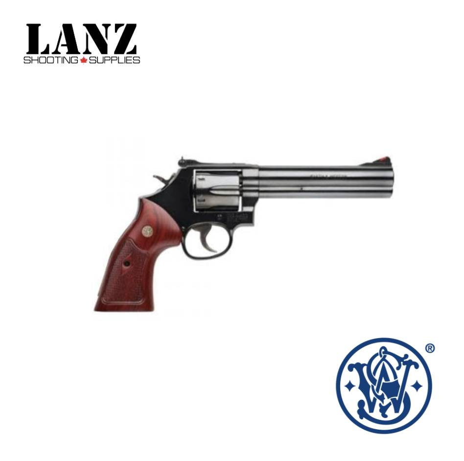 "Smith & Wesson Smith & Wesson 586 6"" Brl, Blued, 357 Mag"