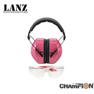 Champion SALE - Champion Ears & Eyes Combo (Pink)
