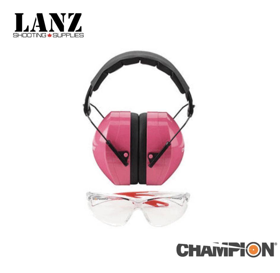 Champion Champion Ears & Eyes Combo (pink)