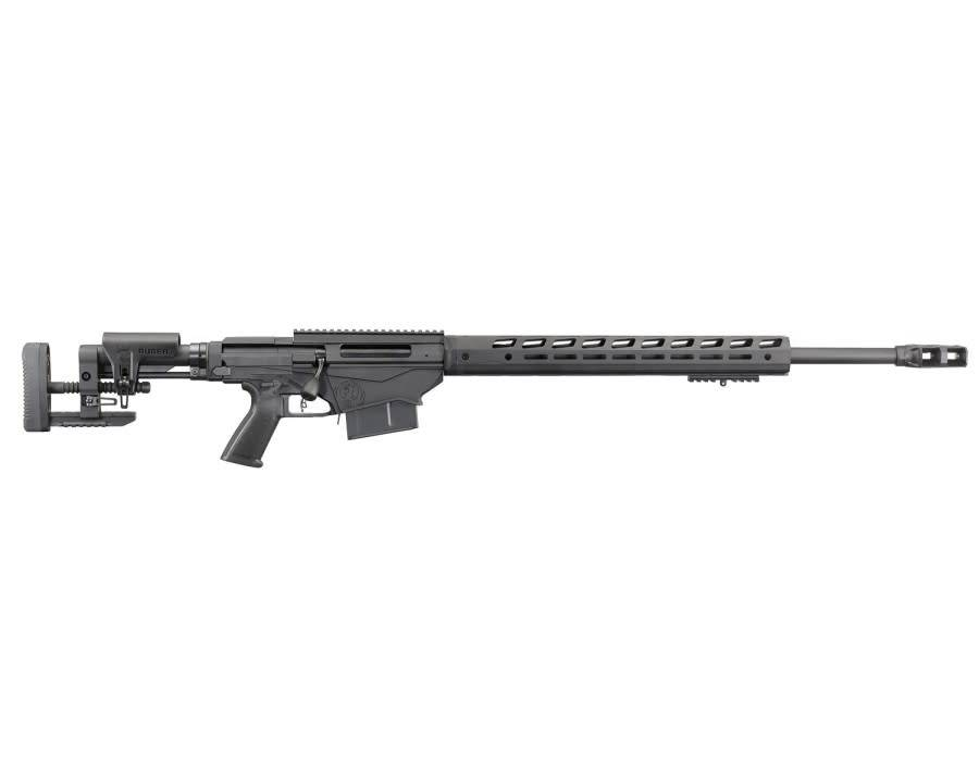 "Ruger Ruger Precision Gen3 Bolt Action Rifle, 338 Lapua Mag, 26"" Barrel, M-Lok Handguard, Nitrided Bolt, 5 Rounds"