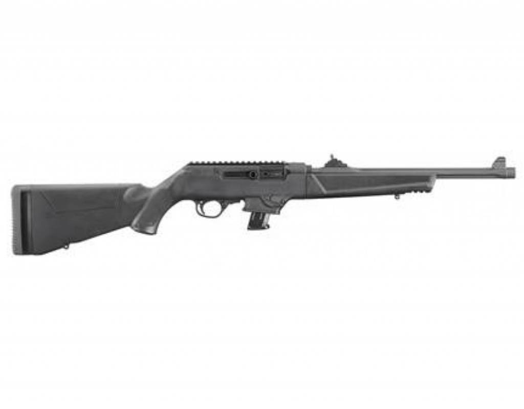 "Ruger Ruger PC Carbine Semi-Auto Rifle, 9mm, 10 Rounds, 18.6"" Barrel"