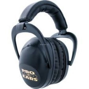 Pro Ears PEUSB Ultra Sleek Passive Ear Muffs, NRR 26 dB, Black