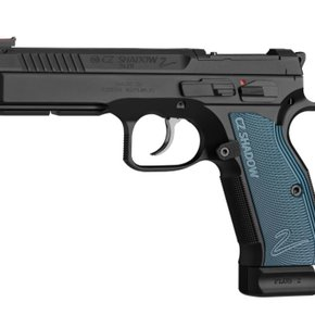 CZ SALE - CZ Shadow 2 Optics Ready Semi-Auto Pistol, 9mm, 10 Round, Black w/ Blue Grips