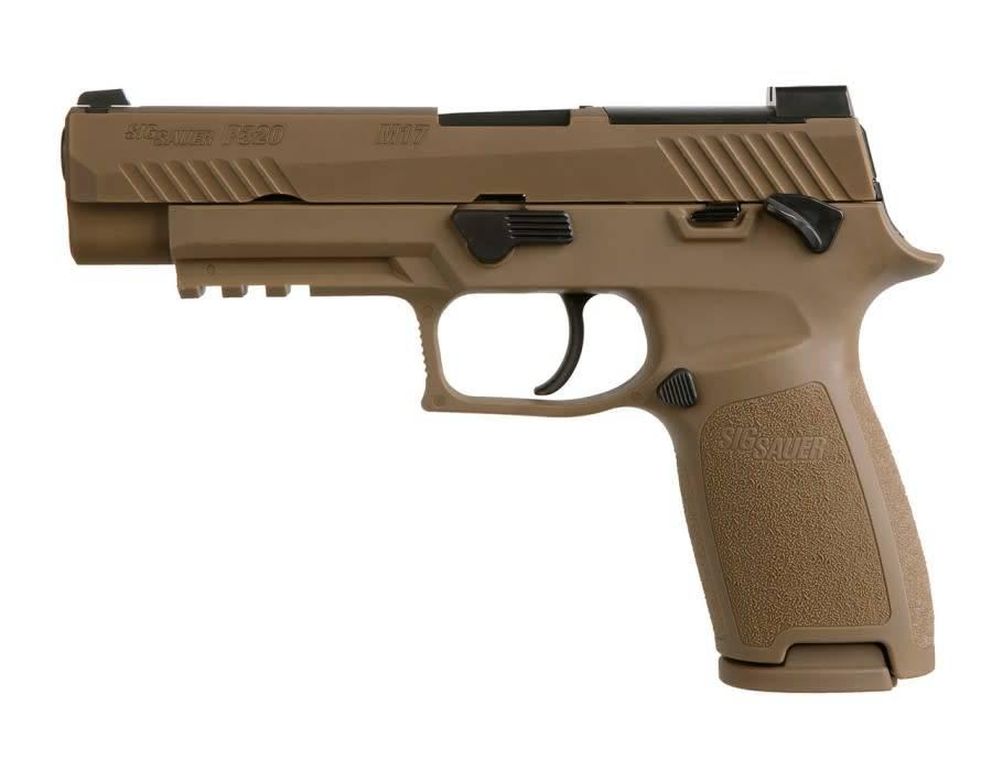 """Sig Sauer Sig Sauer P320 M17 w/Manual Safety, 9mm, 4.7"""""""