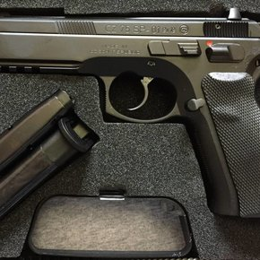 CZ CZ 75 SP-01 9mm with Night Sights