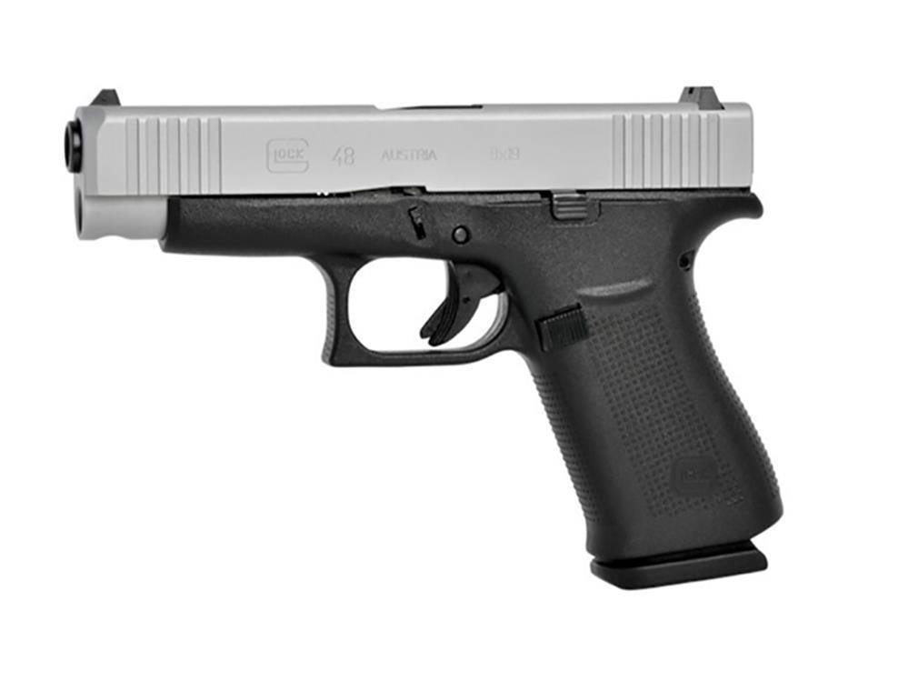 Glock Glock G48 9mm 106mm 10rd Fixed Sights 2-Tone