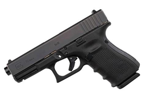 Glock Glock 19 Gen4 Fixed Sight Canadian Edition 9mm