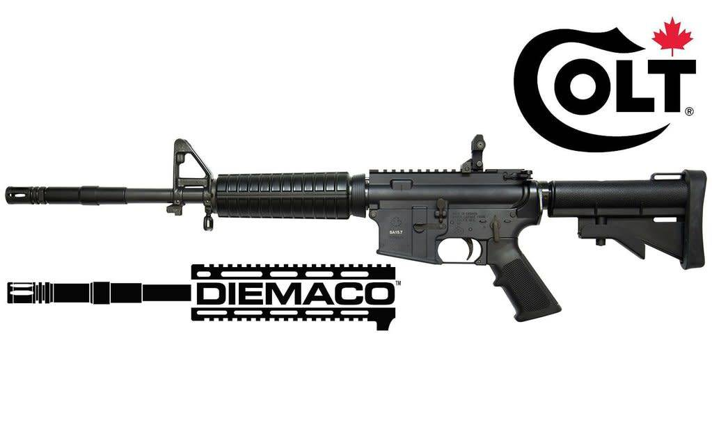 "Colt USA Colt Canada Diemaco SA15.7 5.56mm, 15.7"""