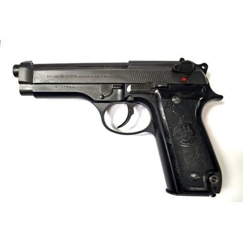 Beretta 92S Italian Police Surplus 9mm Semi-Auto Pistol