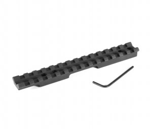 "EGW Savage Mark II (1-3/8"" Ejection Port) Picatinny Rail Scope Mount 20 MOA Ambidextrous"