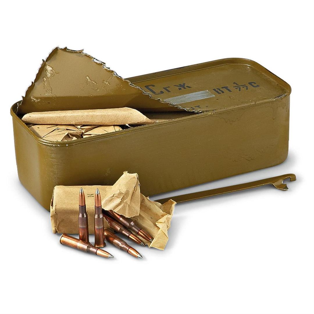 Surplus 7.62x54R Ammunition, 880rds per case