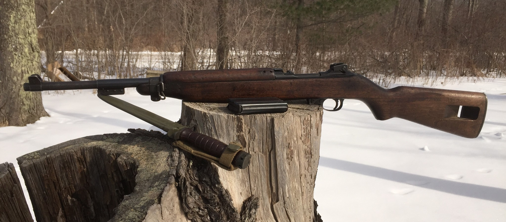 "M1 CARBINE SURPLUS c.30 CARBINE 18"" BBL WOOD STOCK Restricted"