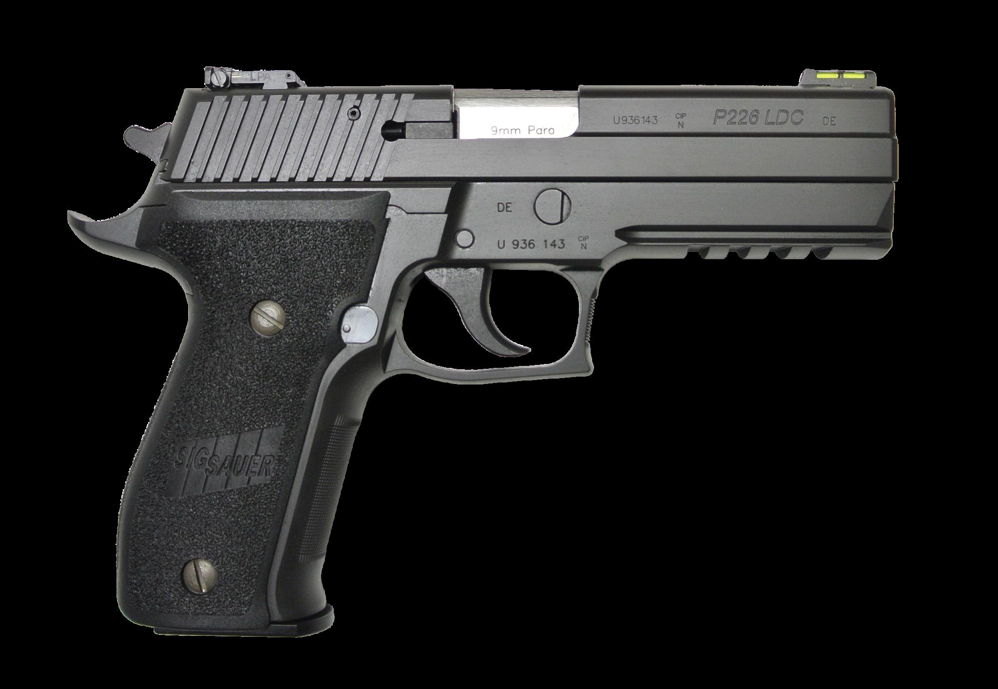 "Sig Sauer Sig Sauer P226R LDC II, LPA Sights, 9mm, 4.4"""