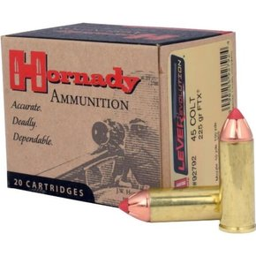Hornady Hornady 45 Long Colt FTX 225gr 20 per box