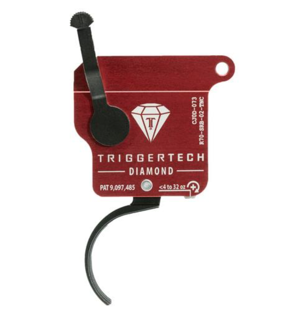 Trigger Tech Trigger Tech Remington Curved 700 Diamond Trigger