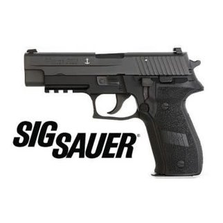 "Sig Sauer Sig Sauer P226 MK25-10 'Navy' Semi-Auto Pistol, 9mm, 10 Round, 4.4"" Barrel, SIGLITE Night Sights, Black"