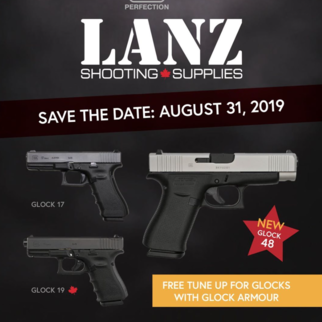 GLOCK DAY EVENT - AUGUST 31st 2018