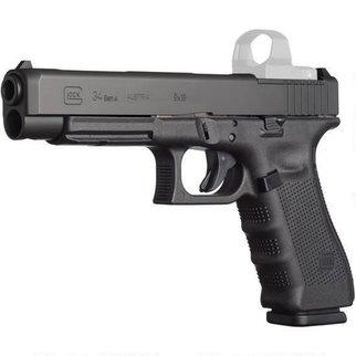 Glock Glock 34 Gen5 MOS Optic Ready Pistol, 9mm