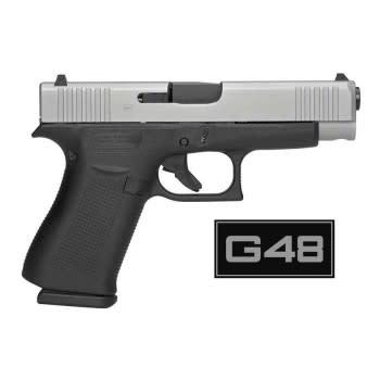 Glock Glock 48, Ameriglo Night Sights, 9mm, Two Tone