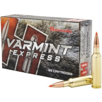 Hornady Hornady Varmint Express 6.5 Creedmoor 95 Grain V-Max, Box of 20