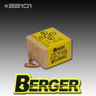 BERGER BULLETS 22/.224'' CAL.OTM 77GR BULLETS