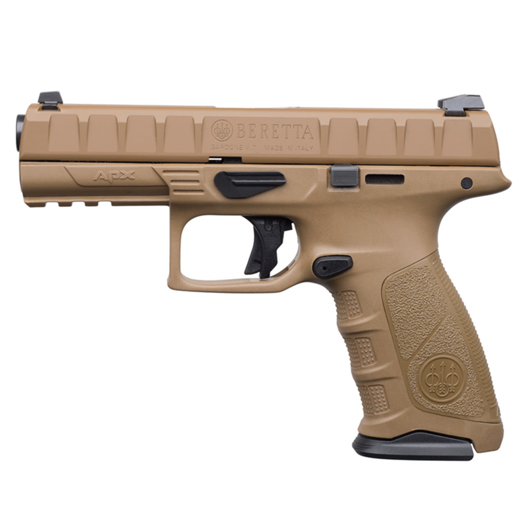 Beretta Beretta APX Flat Dark Earth , 9mm, 4.25""