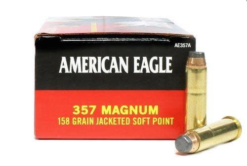 American Eagle Federal 357 Mag 158gr JSP