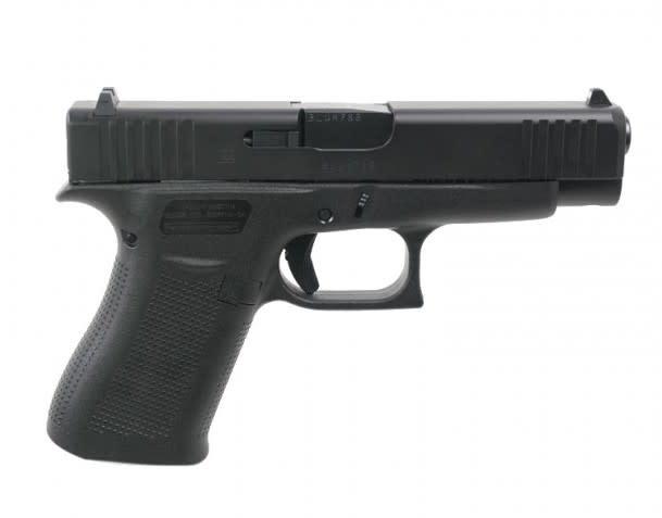 "Glock Glock 48 9mm, 4.17"", Fixed Sights Black/Black"