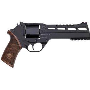 Chiappa CHIAPPA RHINO 60DS 357 Mag 6″ 6rds Wood Grip Black