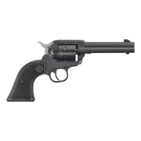 """Ruger Ruger 2002 Wrangler Single Action Revolver, 22 LR, 4.62"""" BL, Black Cerakote, 6-Round"""