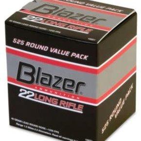 Blazer (CCI) CCI Blazer Bulk Pack 22LR Target Ammunition, 36 Grain, High Velocity, Pack of 525