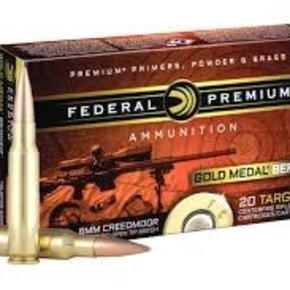 Federal Ammunition Federal Premiun 6mm Creedmoor 105 Grain Hybrid 20 per box