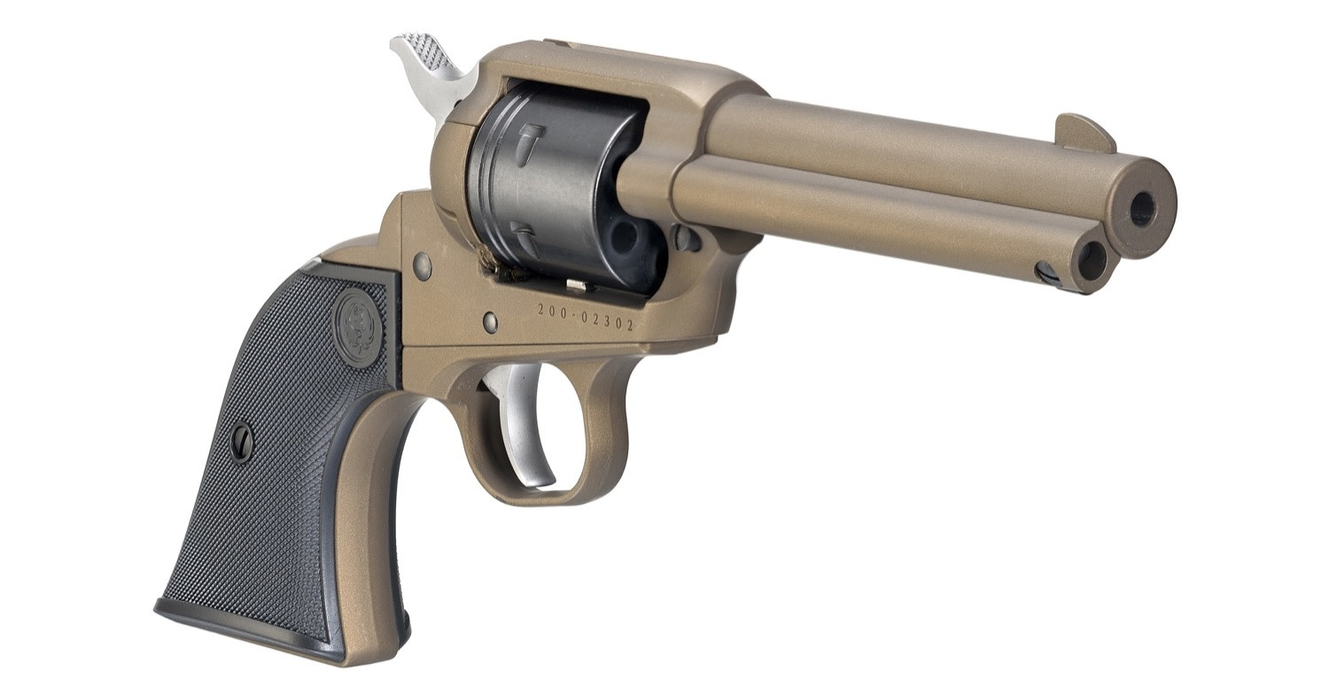 "Ruger Ruger 2004 Wrangler Single Action Revolver, 22 LR, 4.62"" BL, Burnt Bronze Cerakote, 6-Round"