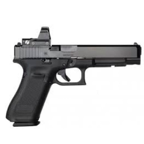 Glock Glock 34 Gen5 MOS Optic Ready Pistol, 9mm with Riton X3 Tictix PRD