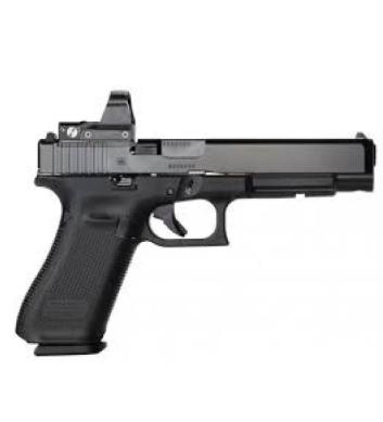 Glock Glock 34 Gen5 MOS Optic Ready Pistol, 9mm with Riton X3 Tictix PRD