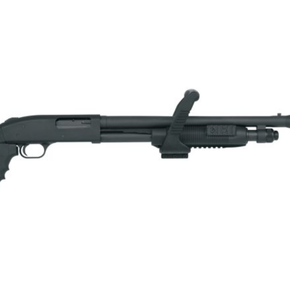 Mossberg Mossberg 500 Chainsaw Shotgun 12 GA 18.5″ Black