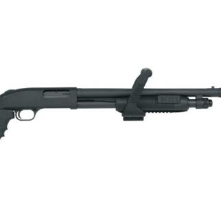 Mossberg Mossberg 500 Chainsaw Shotgun 12 GA 18.5″ Black
