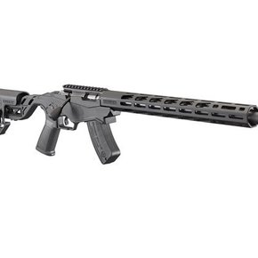 "Ruger Ruger Precision Bolt Action Rifle, 17 HMR, 18"" Threaded Bbl, Quick-Fit Adjustable Stock, 15+1 Rnd"