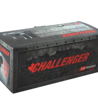Challenger Ammunition Challenger 12g Target Slug 1oz Slug 100 rds