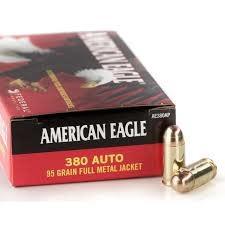 Federal Ammunition American Eagle 380 Auto 95GR