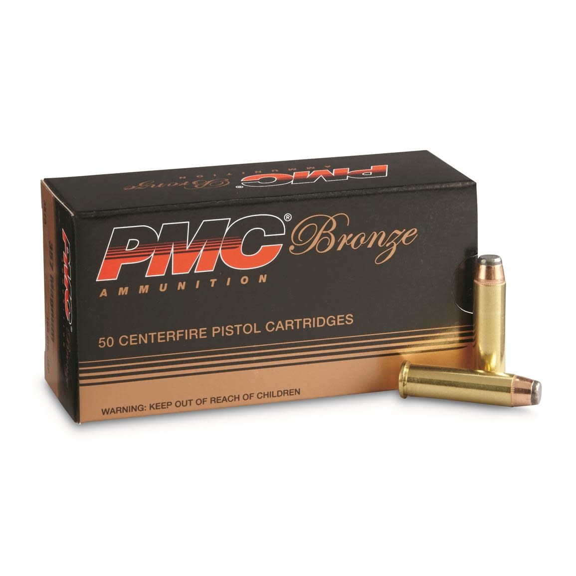PMC PMC Bronze .38 Special, 132gr, FMJ, Box of 50