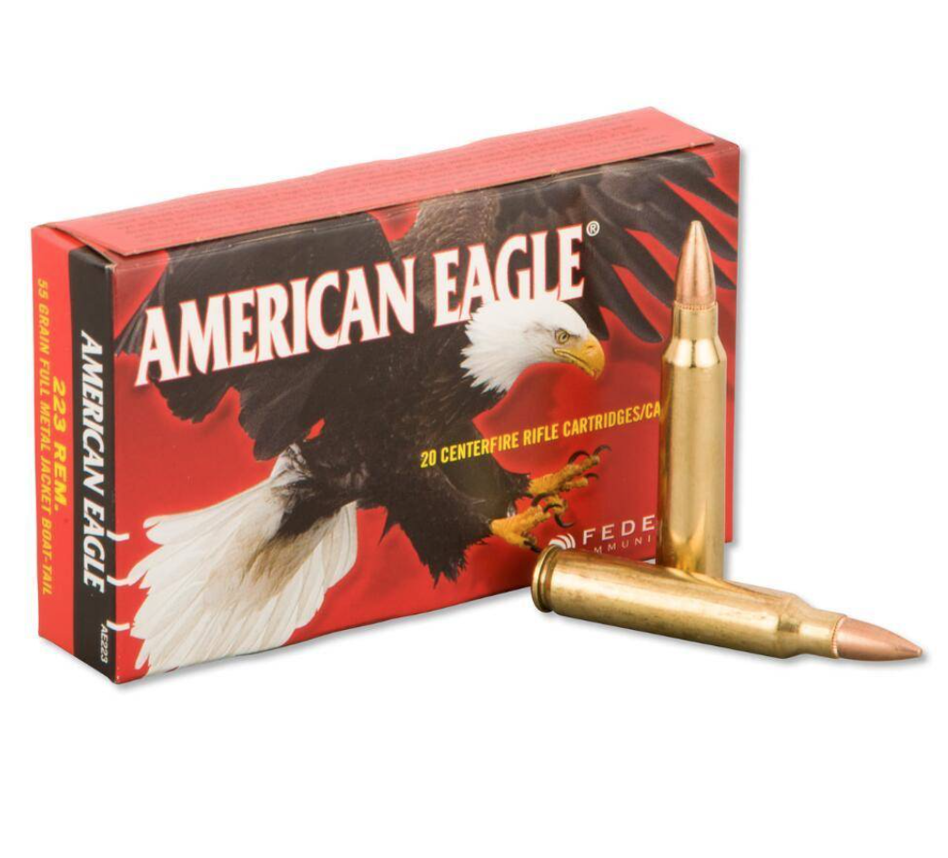American Eagle Federal American Eagle 223 55g Case of 500rds