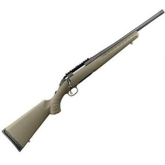 "Ruger Ruger American Ranch Bolt Action Rifle 5.56 NATO, 16.12"" Bbl"