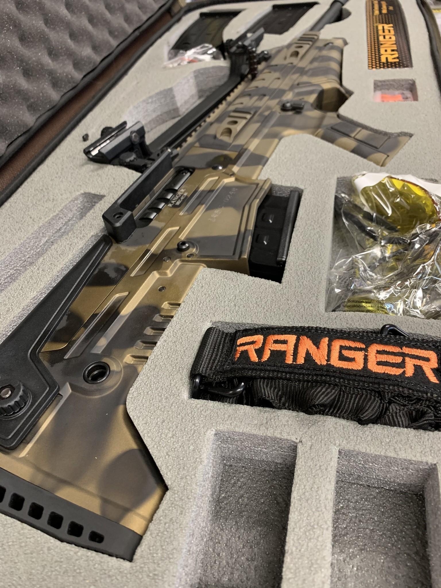 Ranger Bullpup Semi-Auto 20Ga. 3'', 20'' Barrel, 5 Chokes, Bronze Camo Finish
