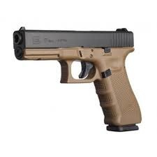 Glock 17 Gen 4 FDE Dark Earth