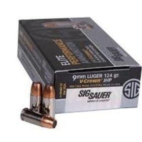 Sig Sauer V-Crown 124g HP 50 rounds