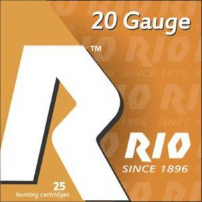 "Rio 20ga TT2075 2-3/4"" 7/8oz #7-1/2 shot 1250FPS CASE 250 rounds"