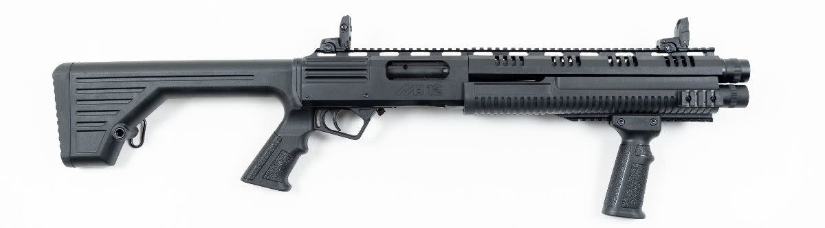 "MK12 Pump Shotgun 20"" Barrel fixed Stock"